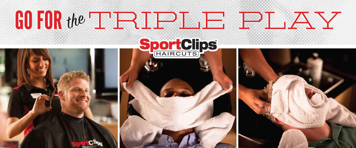 The Sport Clips Haircuts of Cape Girardeau  Triple Play